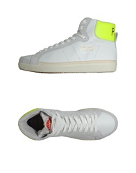 Pdo Gold High Top Sneakers