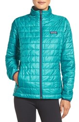Patagonia Women's Nano Puff Water Resistant Jacket Epic Blue