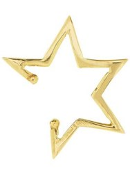 Anna Nina Skewed Star Ear Cuff Gold Plated