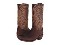 Lucchese Percy Tan Cowboy Boots