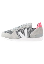 Veja Holiday Trainers Black White Oxford Grey White