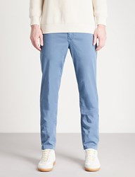 7 For All Mankind Extra Slim Stretch Cotton Chinos Sky Blue