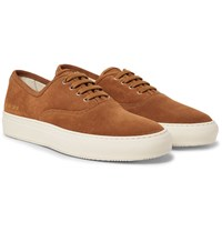 Common Projects Tournament Suede Sneakers Tan