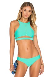 Beach Riot X Revolve X A Bikini A Day Abigail Top Mint