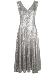 Norma Kamali Grace Sequin A Line Dress 60