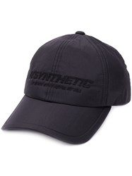 Juun.J 'Synthetic' Embroidered Cap 60