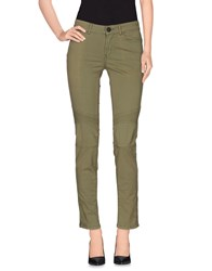 Twin Set Jeans Trousers Casual Trousers Women Military Green