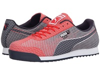 Puma Roma Woven Mesh High Rish Red Peacoat White Men's Shoes Pink
