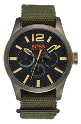 Men's Boss Orange 'Paris' Multifunction Watch 47Mm