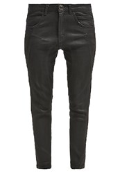 Desigual Aina Relaxed Fit Jeans Negro Coated Denim