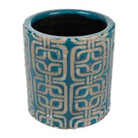 Amara Jamboree Blue Pot Tile