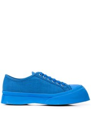 Marni Canvas Sneakers Blue