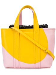 Pierre Hardy Archi Tote Pink And Purple