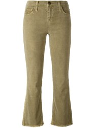Current Elliott Flared Corduroy Trousers Nude Neutrals