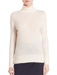 Set Wool Turtleneck Sweater Off White