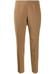 Piazza Sempione Tailored Trousers Neutrals