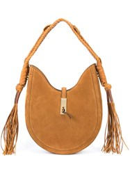 Altuzarra 'Bull Rope' Hobo Bag Brown