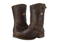 Frye Stone Engineer Espresso Polished Stonewash Men's Pull On Boots Brown