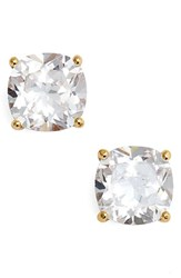 Kate Spade Women's New York Mini Square Stud Earrings Clear