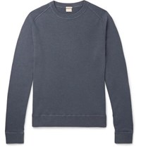 Massimo Alba Garment Dyed Cashmere Sweater Navy