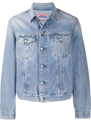 Acne Studios Boxy Denim Jacket Blue