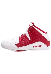 And 1 And1 Rocket 4 Basketball Shoes White Red