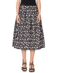Essentiel Skirts Knee Length Skirts Women Steel Grey