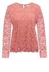 Soaked In Luxury Matilda Blouse Brick Dust Rose