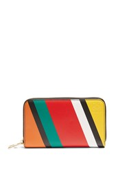 Loewe Zip Around Leather Wallet Multi