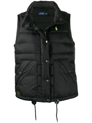 Polo Ralph Lauren Embroidered Logo Gilet Black