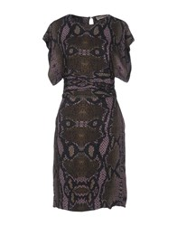 Bolongaro Trevor Knee Length Dresses Military Green