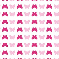 Tempaper Butterfly Removable Wallpaper Sample Swatch Pink Sample