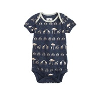 J.Crew Baby One Piece In Giraffes Hthr Ink