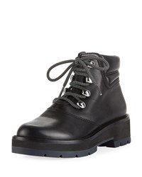 3.1 Phillip Lim Dylan Lace Up Hiking Boot Black