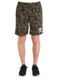 Adidas Camo Printed Swim Shorts