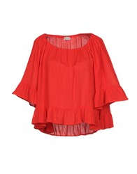 Cuple Blouses Red
