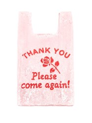 Ashish Thank You Please Come Again Sequinned Bag Pink Multi