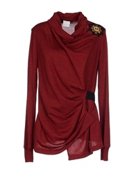Plein Sud Jeanius Sweaters Red