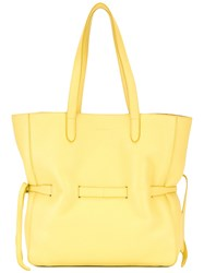 Jil Sander Bucket Tote Bag Yellow Orange
