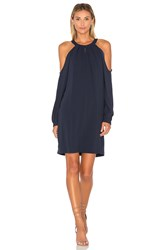 Bcbgmaxazria Open Sleeve Dress Navy