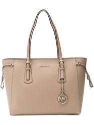 Michael Kors Voyager Tote Neutrals