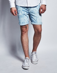 Bravesoul Brave Soul Acid Wash Slim Fit Shorts