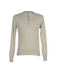 Grp Knitwear Jumpers Men Light Grey