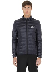 Emporio Armani Nylon Packable Quilted Down Jacket