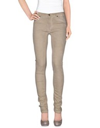 Superfine Denim Pants Beige