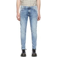 Nudie Jeans Blue Tight Terry