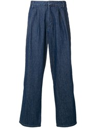 Levi's Made And Crafted Loose Fit Trousers Blue
