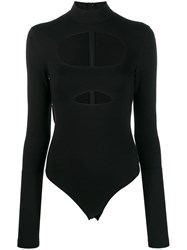 David Koma Cut Out Detail Body Black