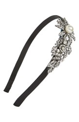 Tasha Bead And Crystal Flower Headband