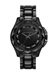 Karl Lagerfeld Kl1001 Karl 7 Black Mens Bracelet Watch